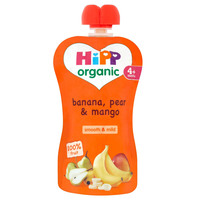 Hipp Organic Banana Pear & Mango 90 g