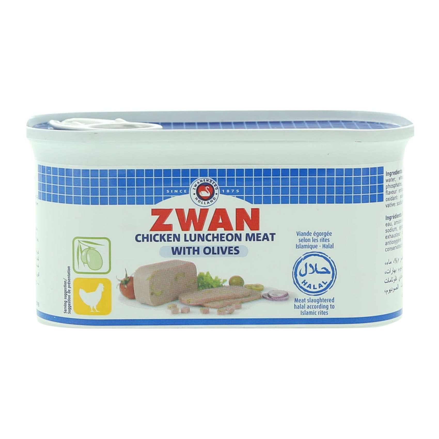 ZWAN CHICKEN L/MEAT OLIVE 200G
