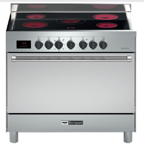 Bompani-90X60-Cm-Gas-Cooker-BO683DX