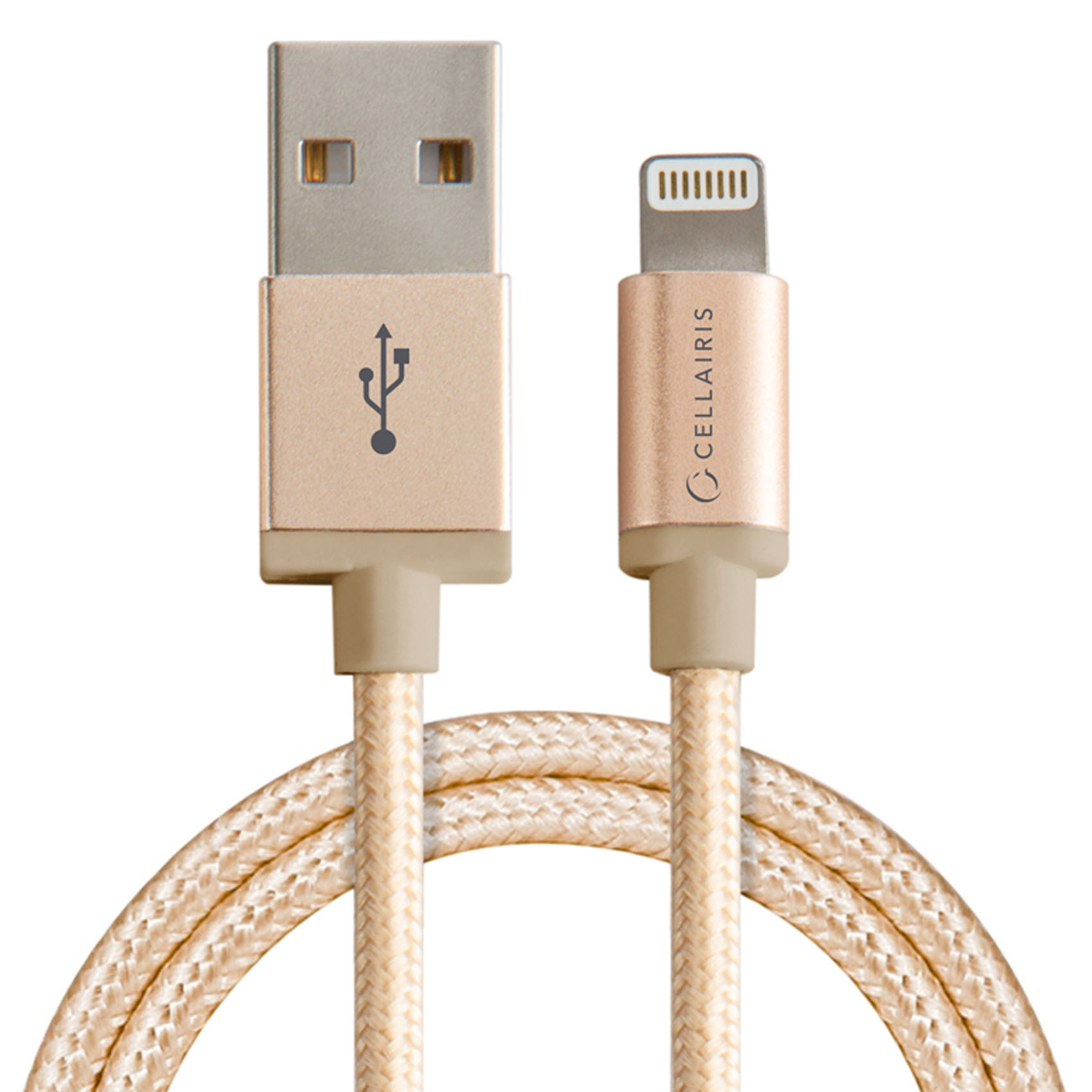 CELLAIRIS CABLE LIGHTNING 3FT GOLD