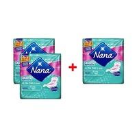 Nana Ultra Super Pads 8 Serviettes X2 + 1 Free