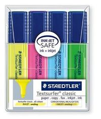 Staedtler Textsurfer Highlighter Pack Of 4 Pieces
