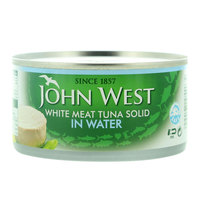 John West Solid in Water White Meat Tuna 170g