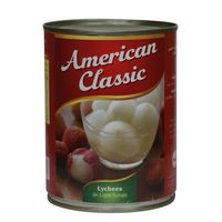 American Classic Lychees In Light Syrup 567g