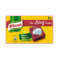 Knorr Beef Stock Cubes X8