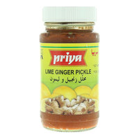 Priya Lime Ginger Pickle 300g