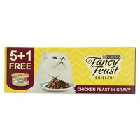 Purina Fancy Feast Grilled Chicken Feast In Gravy 85g x6