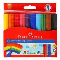 Faber-Castell Jumbo Felt Pen 10 Color