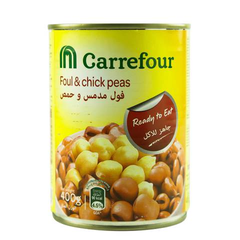 Carrefour-Foul-Medammas-With-Chick-Peas-400g