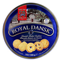 Royal Dansk Danish Butter Cookies Tin 908g