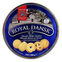 Royal Dansk Danish Butter Cookies Tin 908g