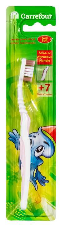 كارفور فرشاة تنظيف الاسنان للاطفال 7+ سنين