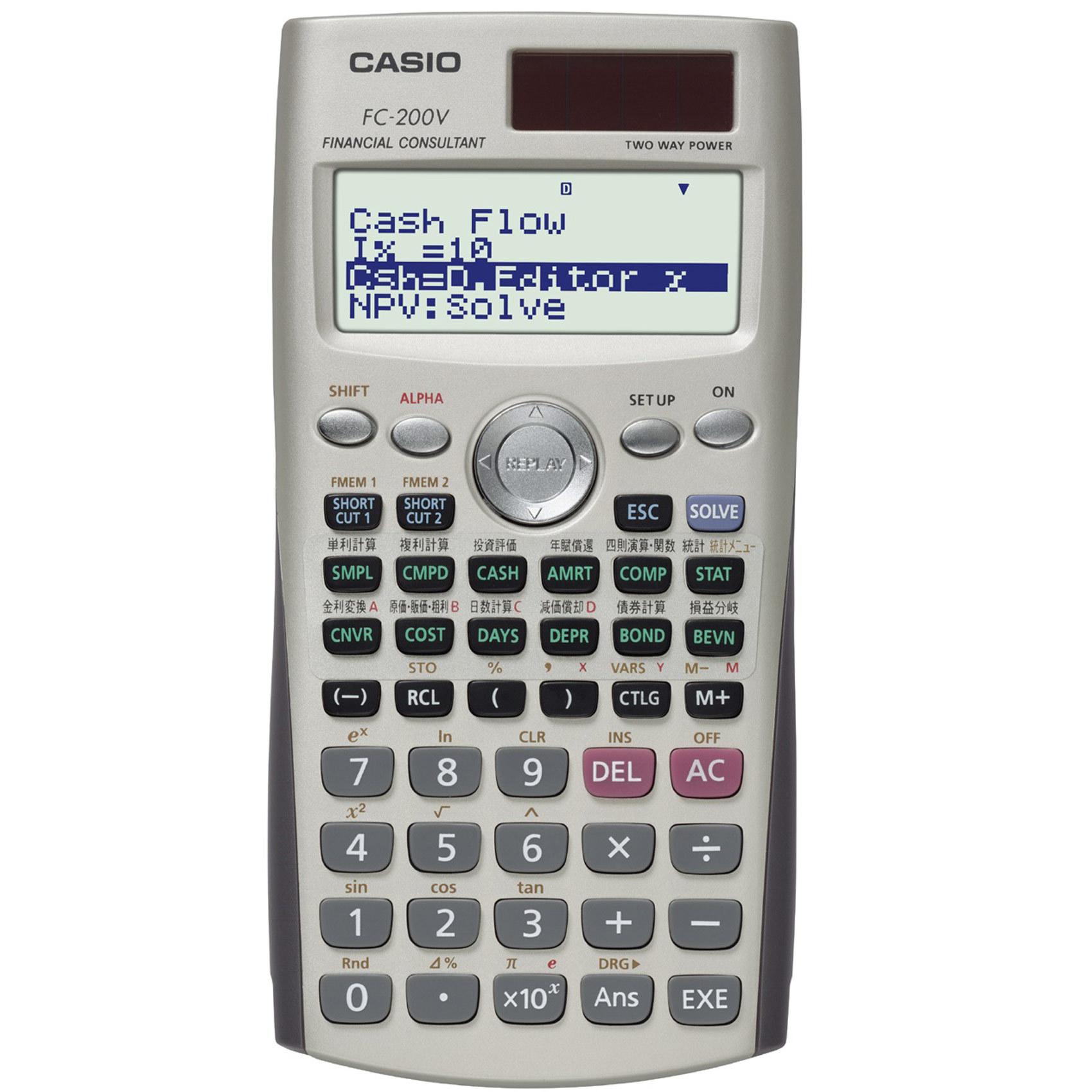 CASIO FC-200V FINANCIAL