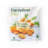 Carrefour Chopped Carrots 1 Kg
