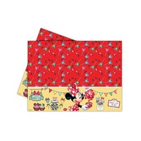 Disney Minnie Mouse Caf� Plastic Table Cover
