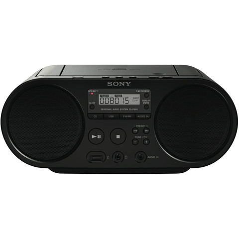 Sony-Portable-CD/Cassette-Boombox-Player-ZSPS50