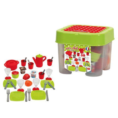 Ecoiffier--Dinner-Set-Box