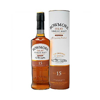 Bowmore 15 Years whisky 43%V Alcohol 70CL