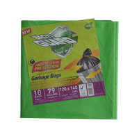 Bacti Guard Bio Degradable Garbage Bag Roll 120x140cm X 10 Bags