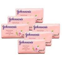 جونسون صابون ناعم ومنعش إندلج 125 غرام 6 حبات