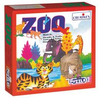 Creative Educational Aids Zoo - 10 Puzzle