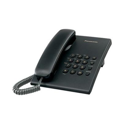 Panasonic-Corded-Telephone-KXTS500-Black