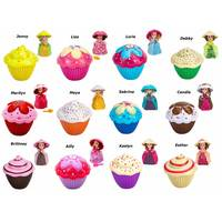 Emco Cupcake Surprise - Scented Doll -Randomly