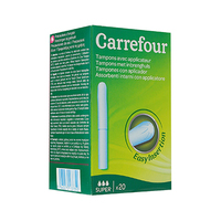 Carrefour Super Tampons With Applicator X20