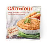 Carrefour Frozen Mashed Carrots 750 g