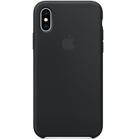 Apple Case iPhone XS Silicone Black