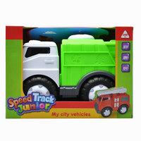 Speed Track Junior My City  Vehicles