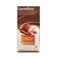 Carrefour Milk Chocolate With Cramel 125GR