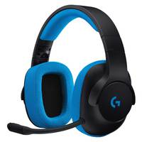 Logitech Gaming Headset Wired G233 Prodigy Black-Cyan