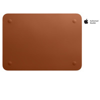 "Apple Sleeve Leather For 12"" MacBook Saddle Brown"