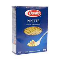 Barilla Pipette Rigate 500g