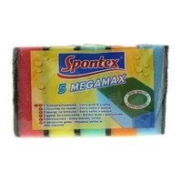 Spontex Megamax Scouring Sponges 5 Pieces