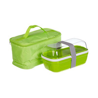 Toyma Lunch Box Large + Food Saver Green