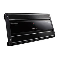 Kenwood Amplifier 4 Channels 900W