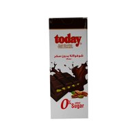 تودي شوكولاتة داكنة بالفستق خالية من السكر 65 غرام