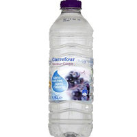 Carrefour Mineral Water Black Currant Flavor 1.5L