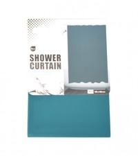 باث لوكس ستارة حمام قياس 180×180 سنتيمتر لون أخضر غامق