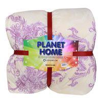 Planet Home Microfiber Comforter 220X240 Purple