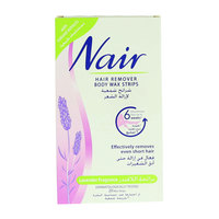 Nair Lavender Fragrance Hair Removers Body Wax Strips 20 Strips
