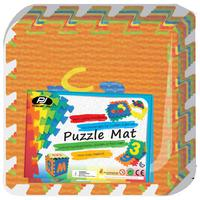 Power Joy Puzzle Mat Vehicle 32Cm 10Pcs