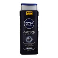 Nivea Men Active Clean Shower Gel 500ml