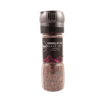 Nabat Organic Black Himalayan Salt Grinder 145GR