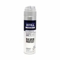 Nivea Shaving Gel Silver Protection 200ML