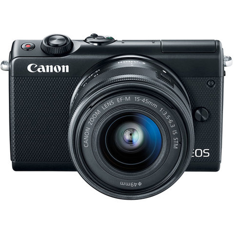 CANON SLR EOS M100 EF-M 15-45 IS BK