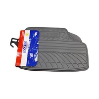 Sparco Car Mat Pvc Black