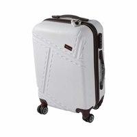 Blue Bird Abs Hard Luggage  4 Wheels Size 20 Inch  White